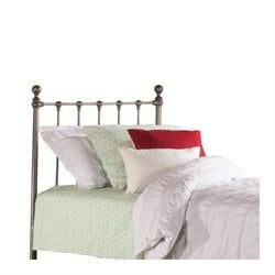 MER-1183 Hillsdale Molly Metal Duo Panel Bed in Black Steel