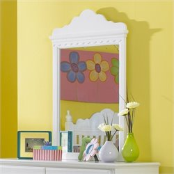 Hawthorne Collections Mirror in White