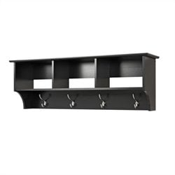 MER-1183 Entryway Wall Cubby Shelf Coat Rack