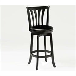 MER-1183 Swivel Counter Stool in Black