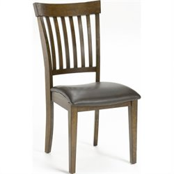Hawthorne Collections Dining Chair in Chestnut (Set of 2)