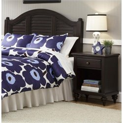 Hawthorne Collections 2 Piece Queen Headboard and Nightstand Set