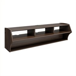 MER-1183 Floating TV Stand in Espresso 2