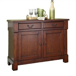 Hawthorne Collections Buffet in Rustic Cherry
