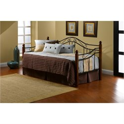 Hawthorne Collections Daybed in Black