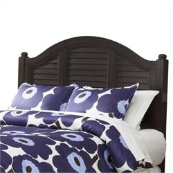 MER-1183 Home Styles Bermuda Panel Headboard in Espresso