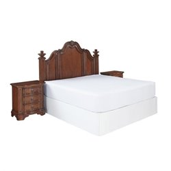Hawthorne Collections 3 Piece King California King Bedroom Set