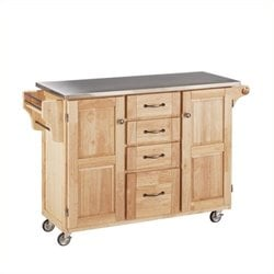 MER-1183 Kitchen Cart in Natural