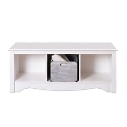 MER-1183 3 Cubby Bedroom Bench