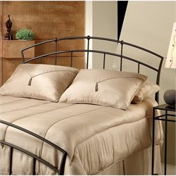 MER-1183 Metal Headboard in Dark Brown Antique