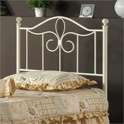 MER-1183 Spindle Headboard in Off-White