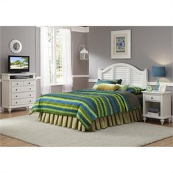MER-1183 3 Piece Bedroom Set in White