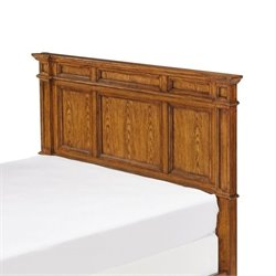 MER-1183 Panel Headboard in Oak
