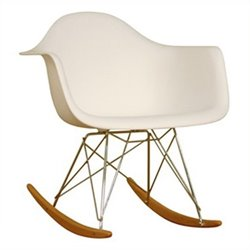 Atlin Designs Rocker in White