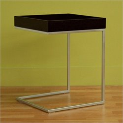 Atlin Designs Modern End Table in Black