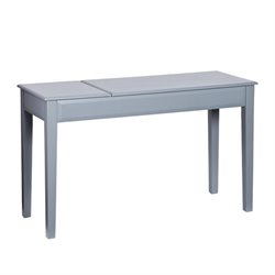 Atlin Designs Writing Desk in Cool Gray