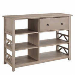 Atlin Designs TV Stand in Rustic Gray