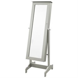 Atlin Designs Cheval Mirror in Silver