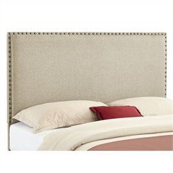 Atlin Designs Full Queen Panel Headboard in Natural