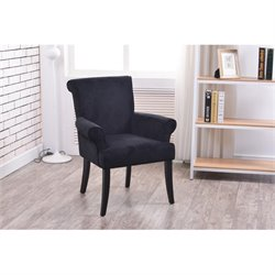Atlin Designs Accent Chair in Black