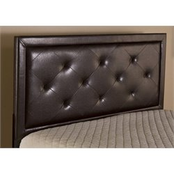 Merch-1188 Tufted Panal Headboard in Brown-MKH