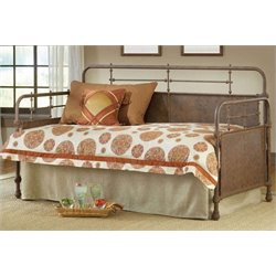 Merch-1188 Atlin Designs Metal Daybed in Old Rust Finish