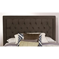 Merch-1188 Atlin Designs Tufted Panel Headboard in Pewter-RM