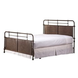 Merch-1188 Atlin Designs Metal Spindle Bed in Old Rust-SL