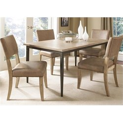Atlin Designs 5 Piece Dining Set in Desert Tan