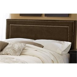 Merch-1188 Atlin Designs Upholstered Panel Headboard in Brown