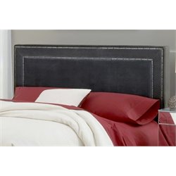 Merch-1188 Atlin Designs Upholstered Panel Headboard in Pewter