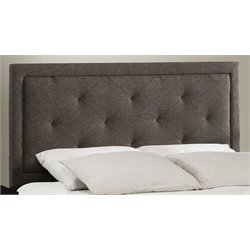 Merch-1188 Atlin Designs Upholstered Panel Headboard in Black