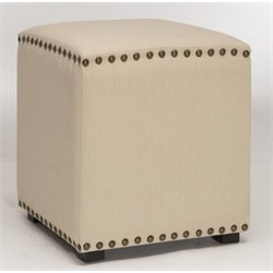 Atlin Designs Vanity Stool in Beige