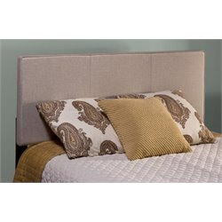 Merch-1188 Atlin Designs Upholstered Panel Headboard in Cream-A