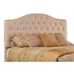 Merch-1188 Upholstered Tufted Panel Headboard in Beige