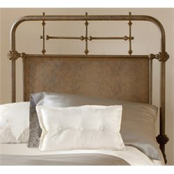 Merch-1188 Atlin Designs Spindle Panel Headboard in Old Rust-M