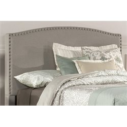 Merch-1188 Atlin Designs Upholstered Panel Headboard in Dove Gray-B