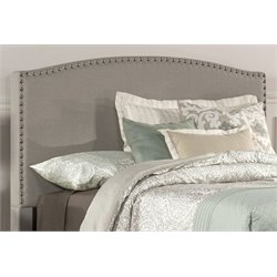 Merch-1188 Upholstered Panel Headboard in Dove Gray-C