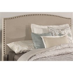 Merch-1188 Upholstered Panel Headboard in Light Taupe-Z