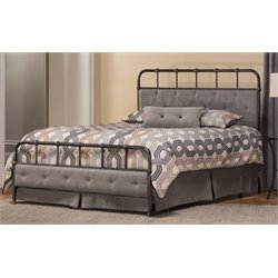 Merch-1188 Atlin Designs Spindle Panel Bed in Rubbed Black-Y