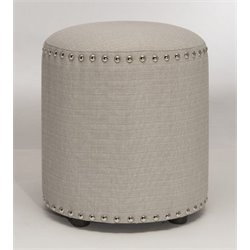 Merch-1188 Atlin Designs ottoman in Cream-H