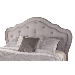 Merch-1188 Tufted Panel Headboard in Beige-P