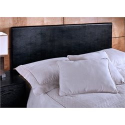 Merch-1188 Atlin Designs Panel Headboard in Black-AD