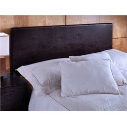 Atlin Designs Twin Panel Headboard in Brown