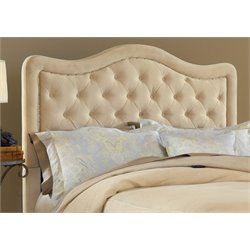 Merch-1188 Tufted Queen Panel Headboard in Beige-AD