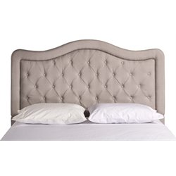 Merch-1188 Panel Headboard in Dove Gray-DD