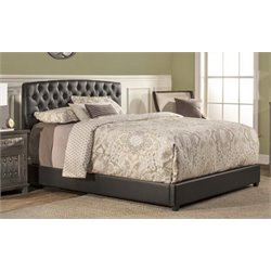 Merch-1188 Atlin Designs Upholstered Bed in Black-SH