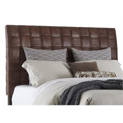 Merch-1188 Atlin Upholstered Headboard in Light Brown-AK