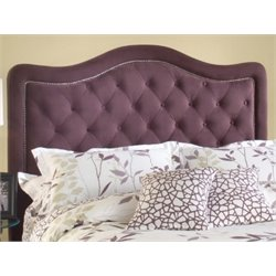 Merch-1188 Atlin Designs Upholstered Tufted Headboard in Purple-AK