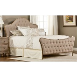 Merch-1188 Atlin Designs Bed in Antique Beige-CB